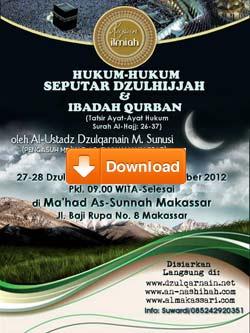 download-daurah-hukum-seputar-dzulhijjah-ibadah-qurban