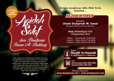 daurah-aqidah-salaf-dari-penuturan-imam-bukhari